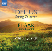 Album artwork for Delius & Elgar: String Quartets