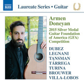 Album artwork for Armen Doneyan: Guitar Recital