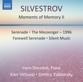 Album artwork for Valentin Silvestrov: Moments of Memory II