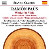 Album artwork for Ramón Paús: Works for Viola