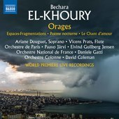 Album artwork for Bechara El-Khoury: Orages (Live)