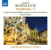Album artwork for Koželuch: Symphonies, Vol. 1