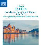 Album artwork for Lajtha: Suite No. 2 & Symphonies Nos. 3 & 4