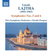 Album artwork for Lajtha: Symphonies Nos. 5 & 6
