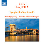 Album artwork for Lajtha: Symphonies Nos. 8 & 9