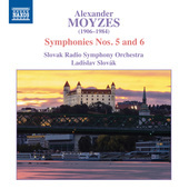 Album artwork for Moyzes: Symphonies Nos. 5 & 6