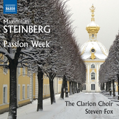 Album artwork for Steinberg: Passion Week, Op. 13