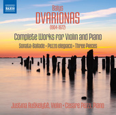 Album artwork for Dvarionas: Complete Works for Violin & Piano