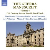 Album artwork for The Guerra Manuscript, Vol. 4