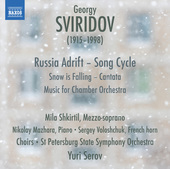 Album artwork for Sviridov: Snow Is Falling - Music for Chamber Orch