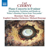 Album artwork for Czerny: Piano Concerto in D Minor