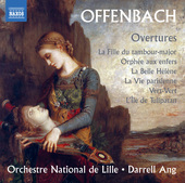 Album artwork for Offenbach: Overtures
