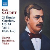 Album artwork for Sauret: 24 Études Caprices, Vol. 1