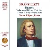 Album artwork for Liszt: Dances / Filipec