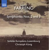 Album artwork for Farrenc: Symphonies Nos. 2 & 3
