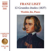 Album artwork for Liszt: 12 Grandes études