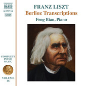 Album artwork for Liszt: Complete Piano Music, Vo. 46 – Berlioz Tr