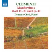 Album artwork for Clementi: Monferrinas, WoO 15-20 & Op. 49