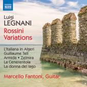 Album artwork for Legnani: Rossini Variations
