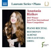 Album artwork for Piano Recital: Anastasia Rizikov