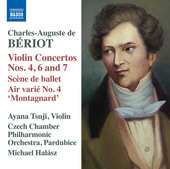 Album artwork for Bériot: Works for Violin & Orchestra