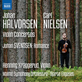 Album artwork for Halvorsen, Nielsen & Svendson: Music for Violin &