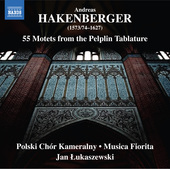 Album artwork for Hakenberger: 55 Motets from the Pelplin Tablature