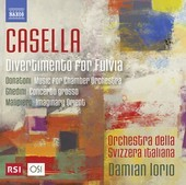 Album artwork for Casella: Divertimento per Fulvia, Op. 64