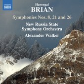 Album artwork for Brian: Symphonies Nos. 8, 21 & 26