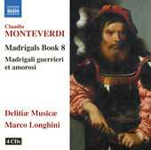 Album artwork for Monteverdi: Madrigals, Book 8