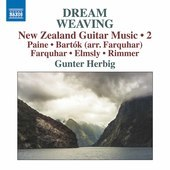 Album artwork for Dream Weaving: New Zealand Guitar Music, Vol. 2