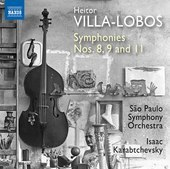 Album artwork for Villa-Lobos: Symphonies Nos. 8, 9 & 11