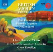 Album artwork for British Violin Concertos