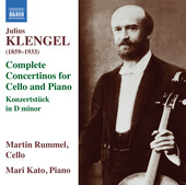 Album artwork for Klengel: Complete Concertinos for Cello & Piano