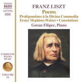 Album artwork for Liszt: Poems