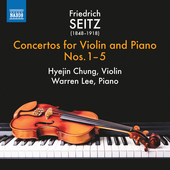 Album artwork for Seitz: Violin Concertos, Vol. 1