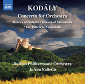 Album artwork for Kodály: Orchestral Works