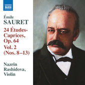 Album artwork for Sauret: 24 Études-caprices, Vol. 2