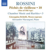 Album artwork for Rossini: Piano Music, Vol. 10
