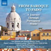 Album artwork for From Baroque to Fado: A Journey Through Portuguese