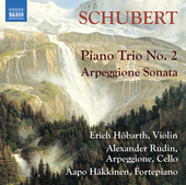 Album artwork for Schubert: Piano Trio No. 2 - Arpeggione Sonata
