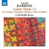 Album artwork for Barrios Mangoré: Guitar Music, Vol. 4