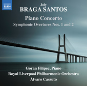 Album artwork for Braga Santos: Orchestral Works