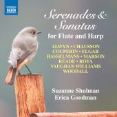 Album artwork for Serenades & Sonatas for Flute and Harp