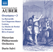 Album artwork for Auber: Overtures, Vol. 3