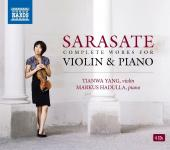 Album artwork for Sarasate: Complete Works for Violin and Piano
