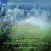 Album artwork for Domeniconi: Works for Mandolin and Guitar