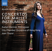 Album artwork for Alrich - Jenkins - Rorem: Concertos for Mallet Ins