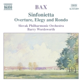 Album artwork for OVERTURE, ELEGY AND RONDO / SINFONIETTA