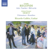 Album artwork for REGONDI & MERTZ GUITAR MUSIC